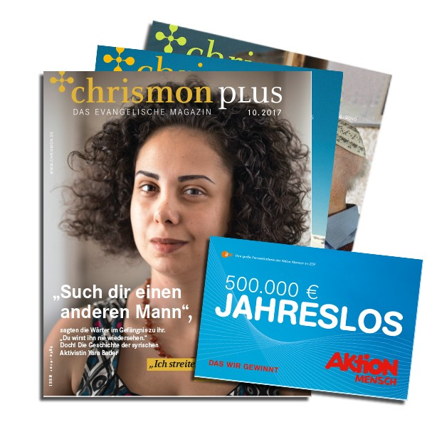 chrismon-plus-Abo zum Weiterempfehlen