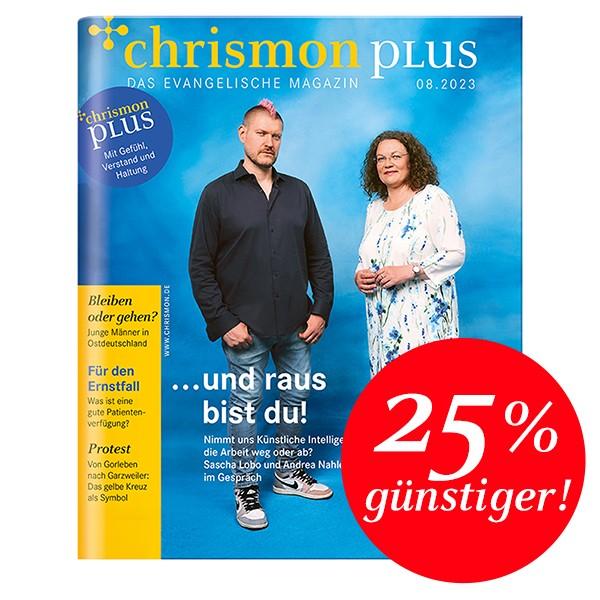chrismon plus Rheinland – Abo für Studierende
