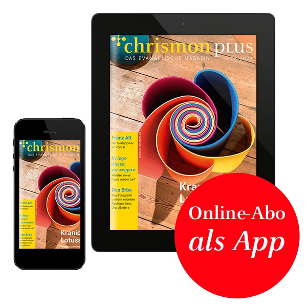chrismon plus – Digital-Abo als App – 12 Monate