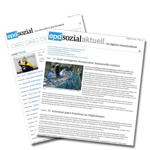epd sozial - Online-Abonnement