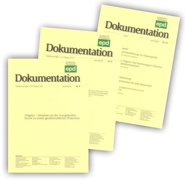 epd Dokumentation im E-Mail Bezug als PDF