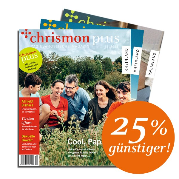 chrismon plus - Abo für Studenten