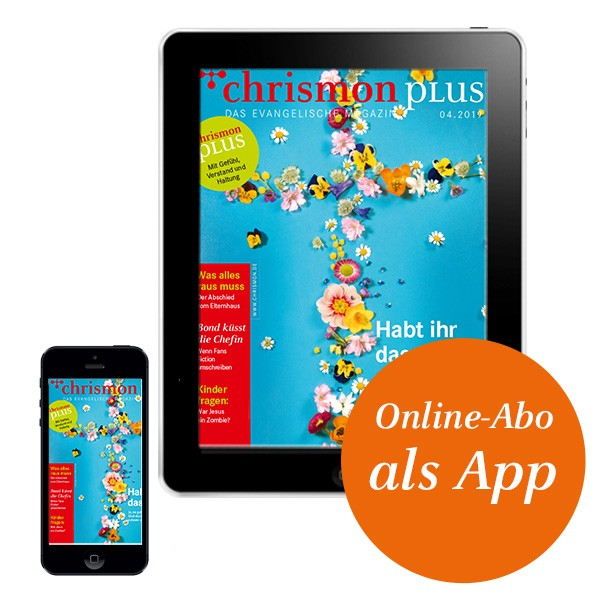 chrismon plus – Digital-Abo als App
